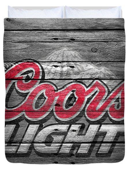 Coors Light Duvet Cover