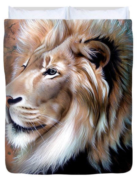 Copper King - Lion Duvet Cover