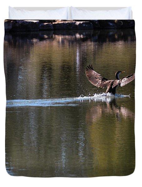 Cormorant Landing Duvet Cover