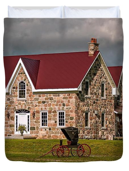 Country Living Duvet Cover by Steve Harrington