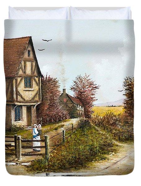 Cropthorne - Worcester Duvet Cover