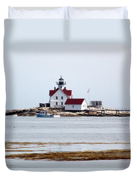 Cuckholds Lighthouse Duvet Cover