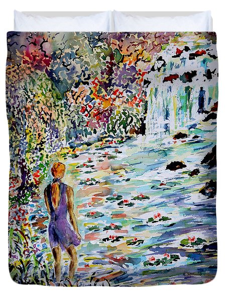 Daughter Of The River Duvet Cover