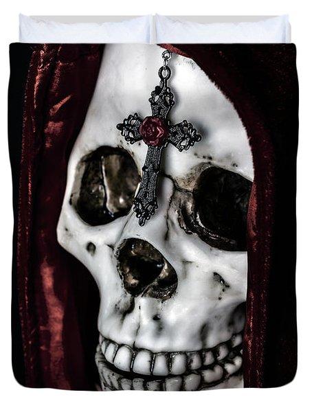 Dead Knight Duvet Cover by Joana Kruse
