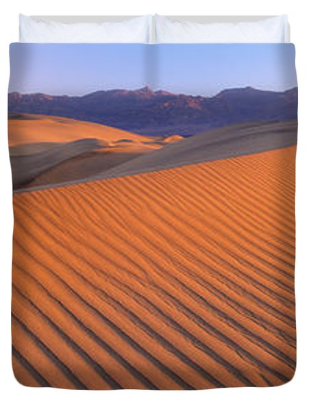 Death Valley National Park, California Duvet Cover by Panoramic Images