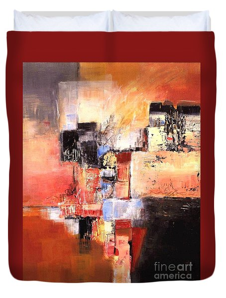 Depth Of Shadows Duvet Cover