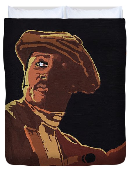 Donny Hathaway Duvet Cover
