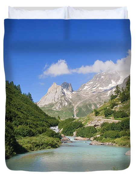 Dora Stream. Veny Valley Duvet Cover by Antonio Scarpi
