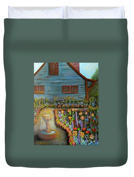 Dream Garden Duvet Cover