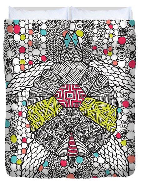 Dream Turtle Duvet Cover