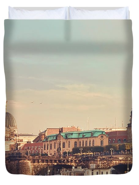 Dresden Duvet Cover by Steffen Gierok