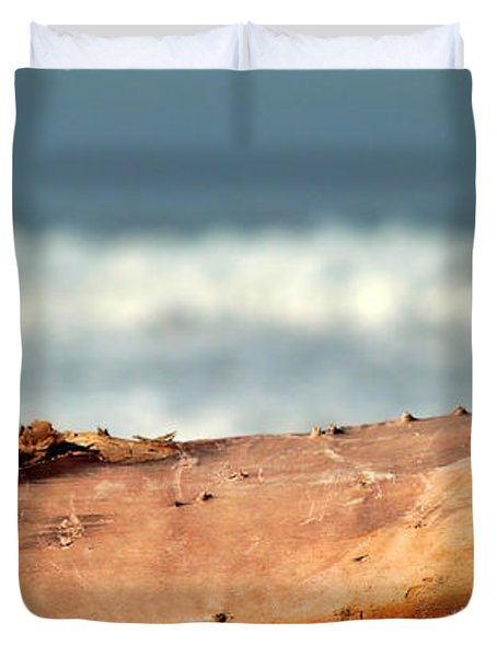Drift Wood Duvet Cover by Henrik Lehnerer