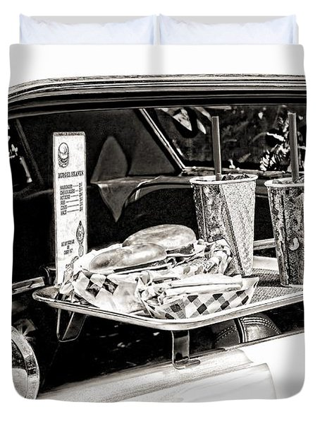 Drive-in Duvet Cover