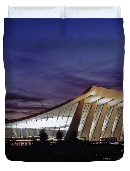 Dulles International Duvet Cover