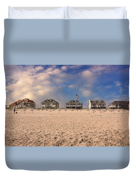 Dune Road Duvet Cover