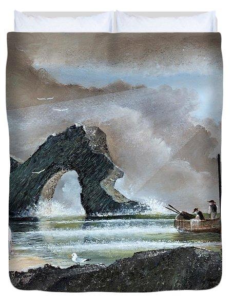 Durdle Door - Dorset Duvet Cover