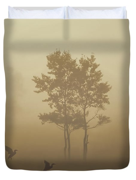 Early Morning Canaan Valley Duvet Cover by Dan Friend