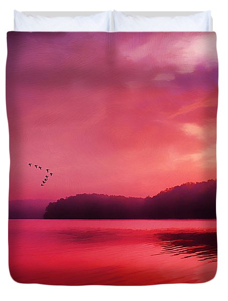 Early To Rise Duvet Cover by Darren Fisher