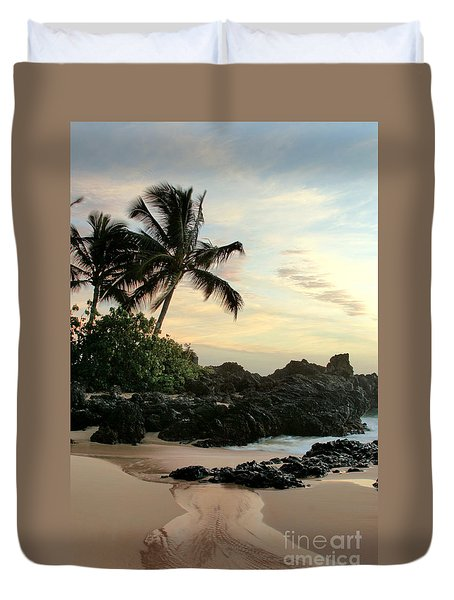 Edge Of The Sea Duvet Cover
