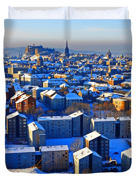 Edinburgh Winter Duvet Cover