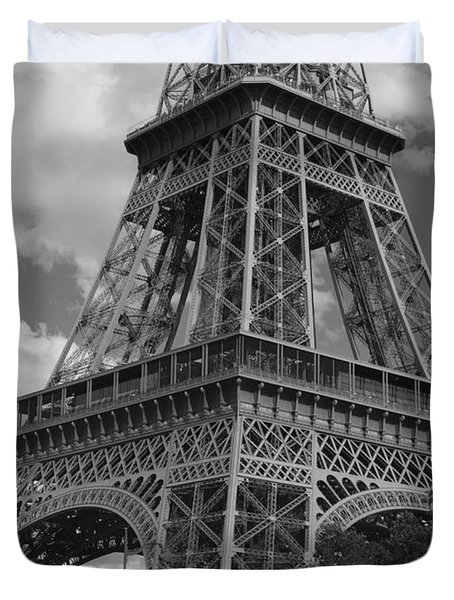 Eiffel Tower Duvet Cover by Ivete Basso Photography