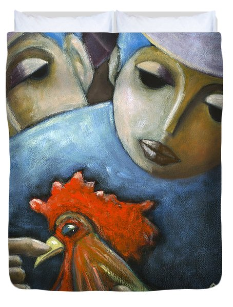 El Gallo Duvet Cover