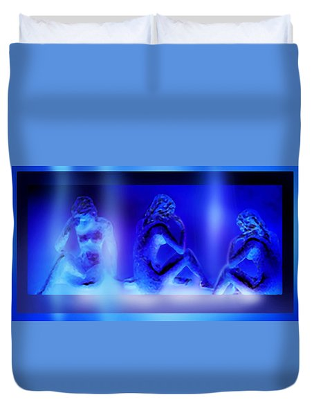 Elusive  Dream Duvet Cover by Hartmut Jager