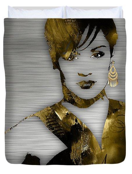 Empire's Grace Gealey Anika Gibbons Duvet Cover