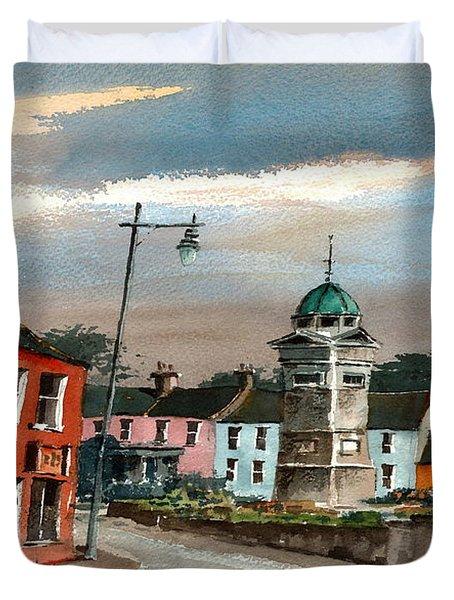 Enniskerry Village Wicklow Duvet Cover