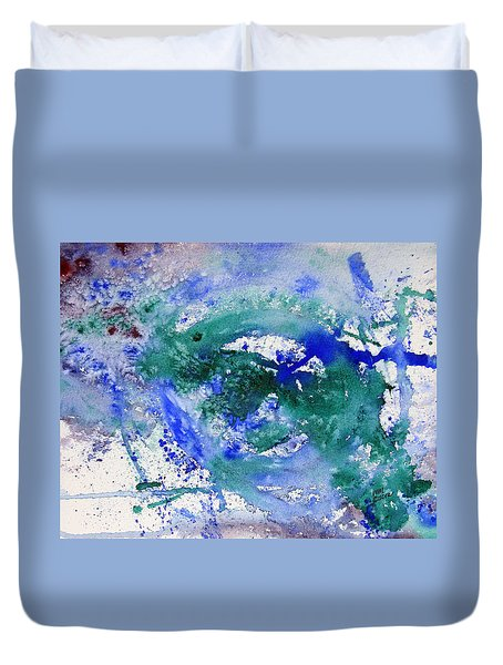 Entropy Duvet Cover