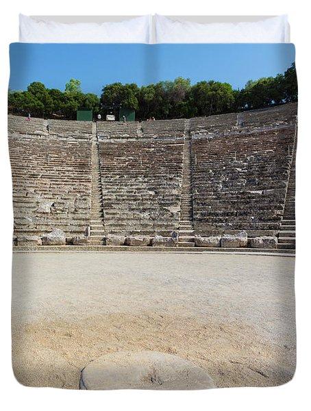 Epidaurus, Argolis, Peloponnese Duvet Cover