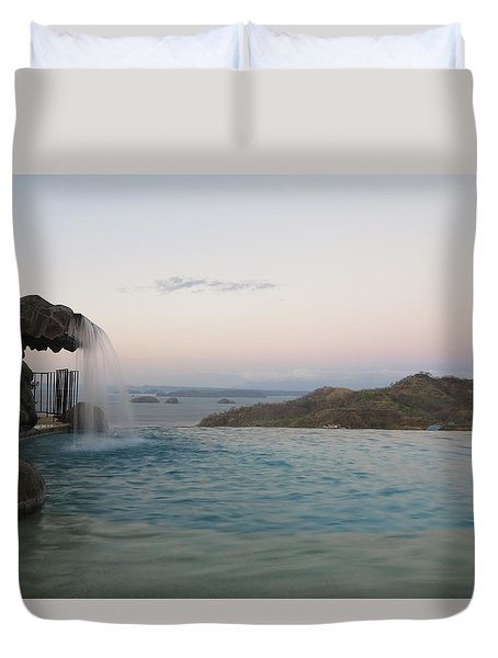 Evening Overlook Duvet Cover