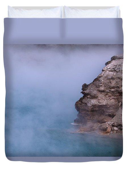 Excelsior Geyser Crater Duvet Cover