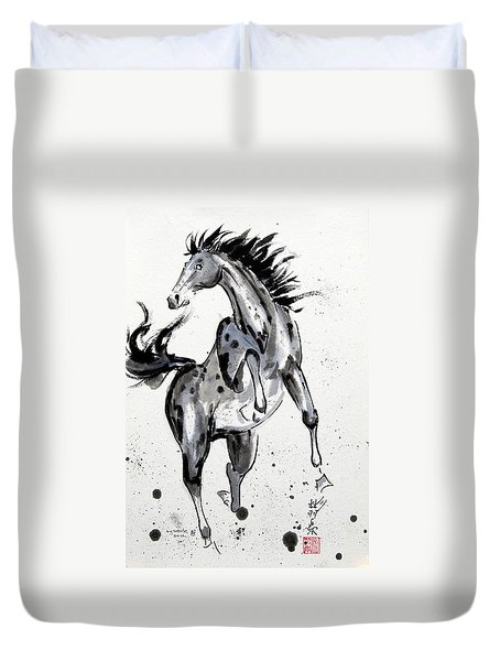 Exuberance Duvet Cover by Bill Searle
