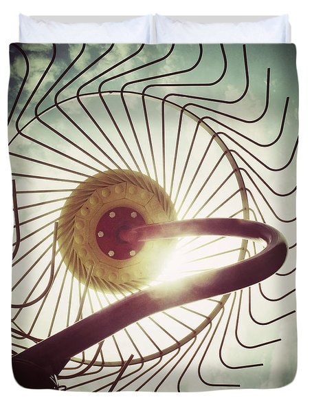 Eye Harvest Duvet Cover
