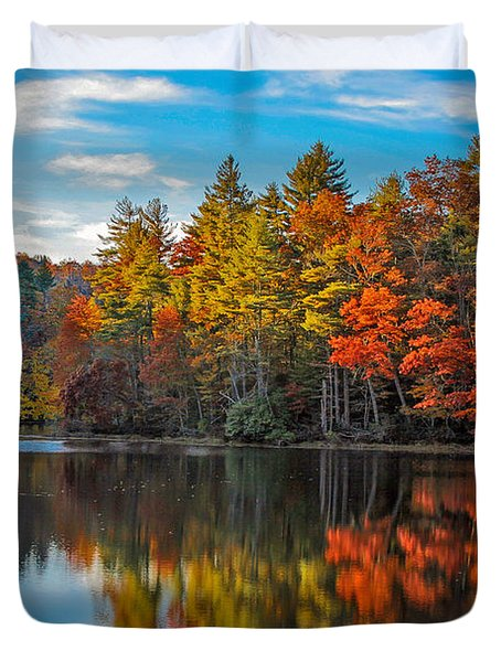 Fall Reflection Duvet Cover