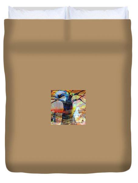 Family Connection Duvet Cover