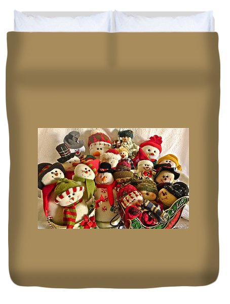 Family Reunion Duvet Cover