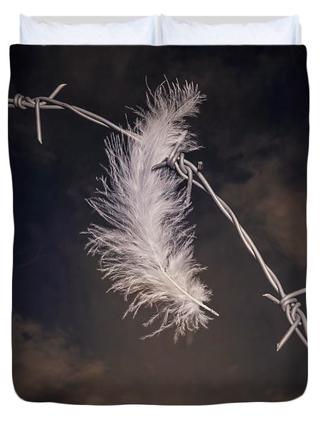 Feather Duvet Cover by Joana Kruse