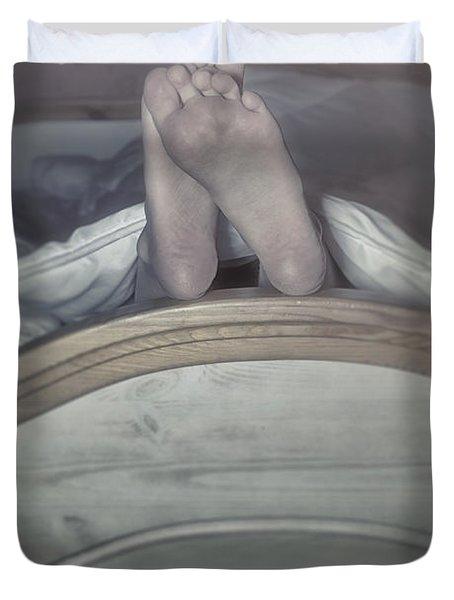 Feet Duvet Cover by Joana Kruse