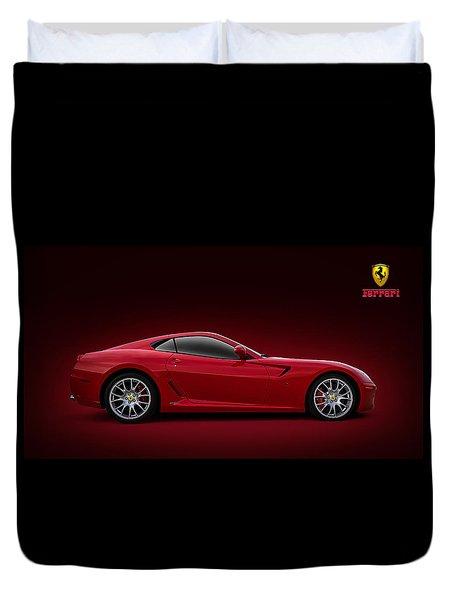Ferrari 599 Gtb Duvet Cover
