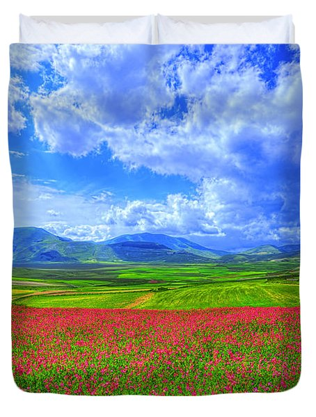 Fields Of Dreams Duvet Cover