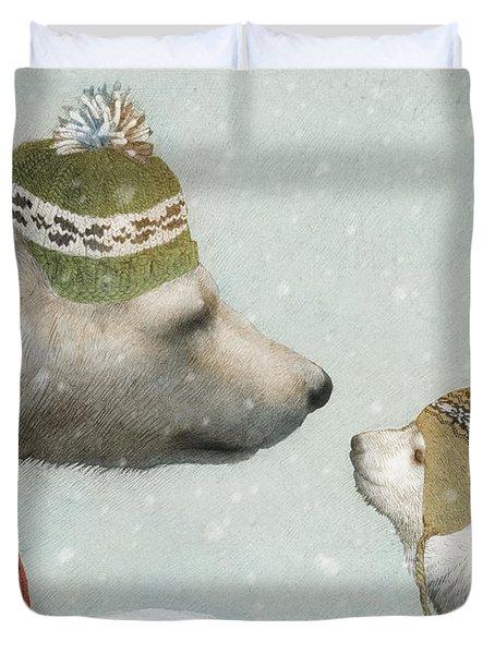 First Winter Duvet Cover