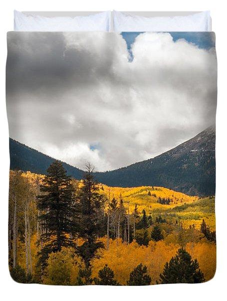 Flagstaff Fall Color Duvet Cover