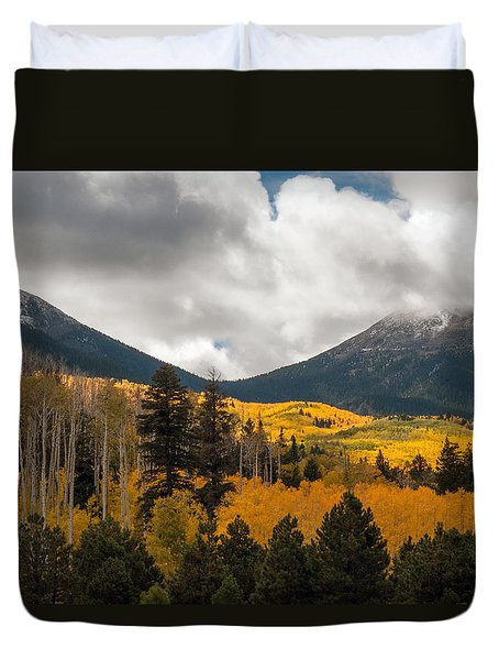 Flagstaff Fall Color Duvet Cover