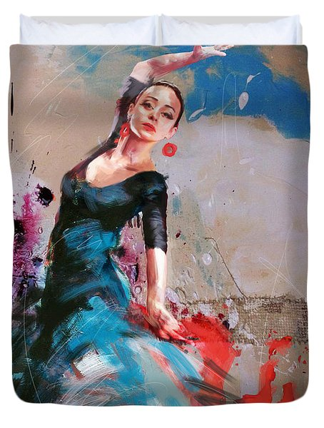 Flamenco 41 Duvet Cover
