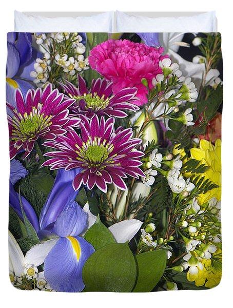 Floral Bouquet 2 Duvet Cover
