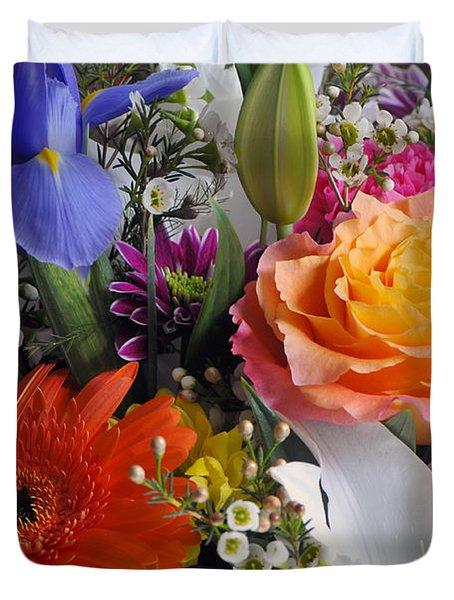 Floral Bouquet 5 Duvet Cover