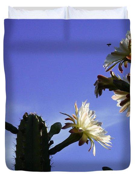 Flowering Cactus 4 Duvet Cover