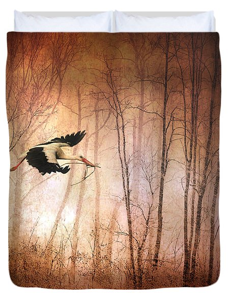 Fly Away Home Duvet Cover